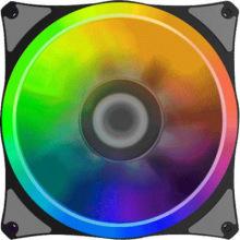 Корпусный вентилятор GameMax 120 мм RGB підсвічування гу мові GMX-RF12-X (GMX-RF12-X)
