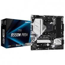 Материнська плата AMD AM4 B550 4DDR4 2PCIex16 2M.2 VGA/HDMI/DP TypeC B550M Pro4 (B550M Pro4)