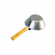 Ківш сталевий штукатурний, дерев'яна ручка,  SPARTA (MIRI862315)