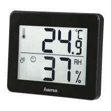 Термометр/гигрометр Hama TH-130  Black (00186361)