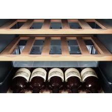 Винотека Haier 127 см/50 бутылок/А/температура 5-20 С/Led-индикация /10 полочек/черный (WS50GA)