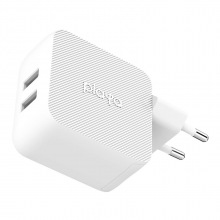 Мережевий ЗП Playa by Belkin Home Charger 12W DUAL USB 2.4A, white (PP0007VFC2-PBB)