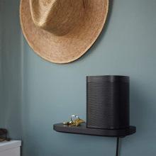Полиця Sonos Shelf для моделей One/One SL Black (S1SHFWW1BLK)