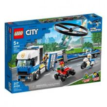 Конструктор LEGO City Перевозка полицейского геликоптера (60244)