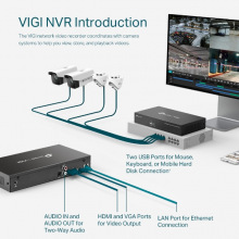 IP-Видеорегистратор TP-LINK VIGI NVR1008 8 каналов, 2xUSB, H264+, 1xHDD, до 10 ТБ (VIGI-NVR1008)