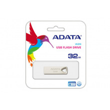 Накопичувач ADATA 32GB USB 2.0 UV210 Metal Silver (AUV210-32G-RGD)