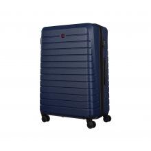 Чемодан пластиковый Wenger, Ryse, большой, 4 колеса (синий) (610150)