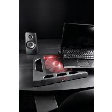 """Підставка до ноутбука Trust GXT 220 Kuzo (17.3"""") RED LED BLACK (20159_TRUST)"""