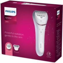 Eпілятор для вологої та сухої епіляції Philips Series 8000 BRE730/10 (BRE730/10)