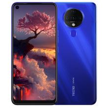 Смартфон Tecno Spark 6 (KE7) 4/128GB Dual Sim Ocean Blue (4895180762062) (4895180762062)