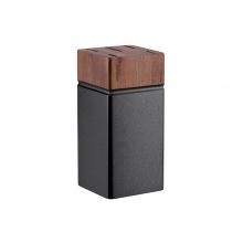 Набір ножів Ardesto Black Mars 6 пр., нержавіюча сталь, дерев'яний блок (AR2020SW)