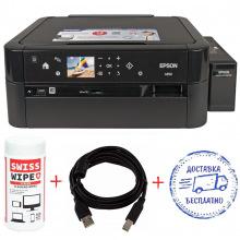 A4 Epson L850 Фабрика печати + кабель USB + салфетки