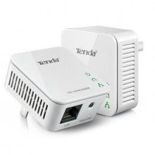 Адаптер Powerline TENDA P200, 200Mbit (2шт в упаковке), 1xFE (P200-KIT)