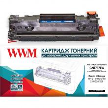 Картридж WWM  аналог Canon 737 Black (CNT737EW)