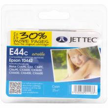 Аналог Epson C13T044240 Cyan (Синий) Картридж Совместимый (Неоригинальный) JetTec