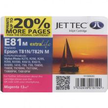 Аналог Epson C13T08234A10, C13T11234A10 Magenta (Красный) Картридж Совместимый JetTec