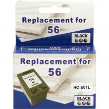 Аналог HP 56 Black (Черный) Картридж Совместимый (Неоригинальный) (HC-E01L) MicroJet