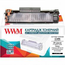 Картридж WWM заміна HP 78A CE278A и Canon 728 (LC49N)