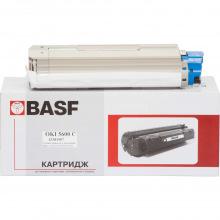 Картридж BASF заміна OKI 43381907 Cyan (BASF-KT-C5600C-43381907)