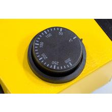 Апарат для зварювання пластикових труб DWP-1500, 1500Вт, 260-300 град., комплект насадок, 20-63 мм  DENZEL (MIRI94205)