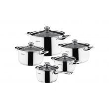 Набір посуду Ardesto Gemini Gourmet, 10 пред., нержавіюча сталь (AR1910PS)