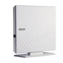 Оптичний привід ASUS SDRW-08D2S-U LITE DVD+-R/RW USB2.0 EXT Ret Slim White (SDRW-08D2S-U_LITE/WHT)