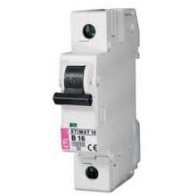 Автоматический выключатель ETI, ETIMAT 10 1p C 63A (6kA) (2131722)