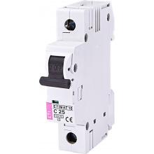 Автоматический  выключатель ETI,  ETIMAT 10  1p C 25А (10 kA) (2131718)