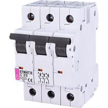 Автоматический  выключатель ETI,  ETIMAT 10  3p C 25А (10 kA) (2135718)