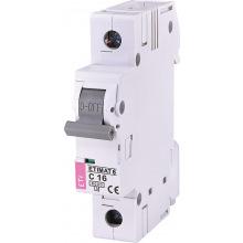 Автоматический  выключатель ETI,  ETIMAT 6  1p С 16А (6 kA) (2141516)