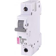 Автоматический  выключатель ETI,  ETIMAT 6  1p С 20А (6 kA) (2141517)
