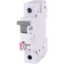 Автоматический  выключатель ETI,  ETIMAT 6  1p С 6А (6 kA) (2141512)