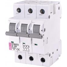 Автоматический  выключатель ETI,  ETIMAT 6  3p C 20А (6 kA) (2145517)