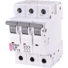 Автоматический  выключатель ETI,  ETIMAT 6  3p C 40А (6 kA) (2145520)
