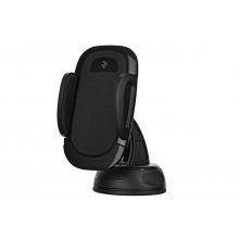 Держатель автомобильный 2E CH0101 для смартфона полуавтомат, черный (2E-CH01-01)
