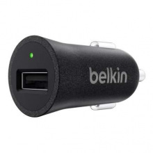 Автомобильное ЗУ Belkin Car Charger 12W USB 2.4A, Mixit Metallic, black (F8M730btBLK)
