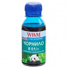 Чернила WWM B51 Cyan для Brother 100г (B51/C-2) водорастворимые
