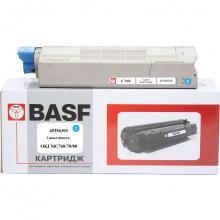 Картридж BASF заміна OKI 45396303 Cyan (BASF-KT-45396303)