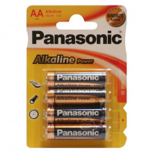 Батарейка Panasonic ALKALINE POWER AA BLI 4 (LR6REB/4BPR)