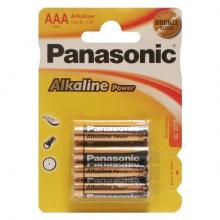 Батарейка Panasonic ALKALINE POWER AAA BLI 4 (LR03REB/4BPR)