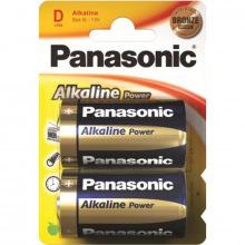 Батарейка Panasonic ALKALINE POWER D BLI 2 (LR20REB/2BP)