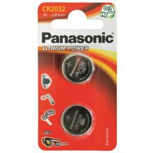 Батарейка Panasonic CR 2032 BLI 2 LITHIUM (CR-2032EL/2B)