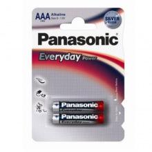 Батарейка Panasonic EVERYDAY POWER AAA BLI 2 ALKALINE (LR03REE/2BR)