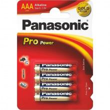 Батарейка Panasonic PRO POWER AAA BLI 4 ALKALINE (LR03XEG/4BP)