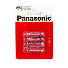 Батарейка Panasonic RED ZINK R03 BLI 4 ZINK-CARBON (R03REL/4BP)