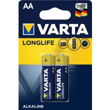 Батарейка VARTA LONGLIFE AA BLI 2 ALKALINE (04106101412)