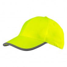 Бейсболка Neo сигнальная жолтая, однотонная (81-793)