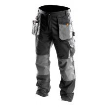 Брюки Neo робочие, размер S/48,посилення з тканини Oxford,посилені кишені,потрійній шви (81-220-S)