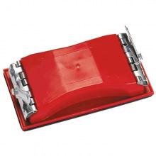 Брусок для шліфування, 160 х 85 мм, пластиковий із затискачами  MTX (MIRI758209)