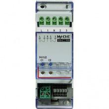Активатор Bticino MyHome SCS 2-канальный DIN (F411U2)